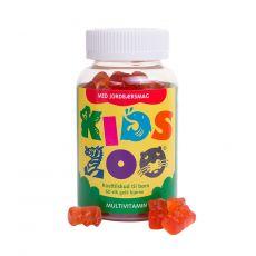 [重庆保税区]Kids Zoo Multivitamin Bjorn 60Stk. 丹麦儿童动物乐园多种维他命咀嚼60粒