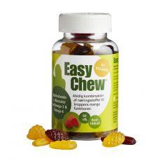 [丹麦] DFI Easy Chew Multivitamin+Omega-3 60Stk. 轻松咀嚼多种维他命+欧米茄3咀嚼维他命 60粒