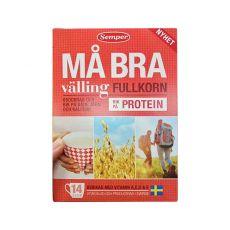 [瑞典直邮包邮包税]Semper Ma Bra Fullkorn Valling Proten450g 瑞典森宝成人谷物高蛋白奶粉450克*6盒