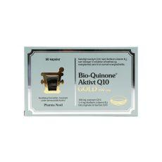 [重庆保税区]PharmaNord Bio-Quinone Gold 60+30pcs. 丹麦法尔诺德有机辅酶Q10黄金版 60+30粒